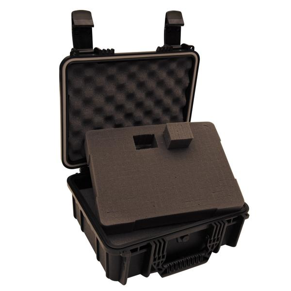Case, plastic case, ACWP6027, Ape Case, Ape case Dryspell 27, waterproof case, hard case for camera, hard case for camera and video gear, hard case for digital technology, small watertight hard case, water tight case for camera, watertight and hard case for video equipment, watertight hard case